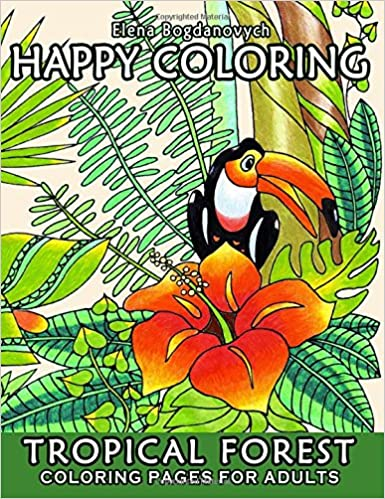 Happy Coloring 5 Tropical Forest