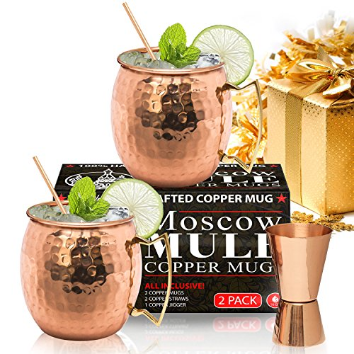 Moscow Mule Copper Mugs HANDCRAFTED