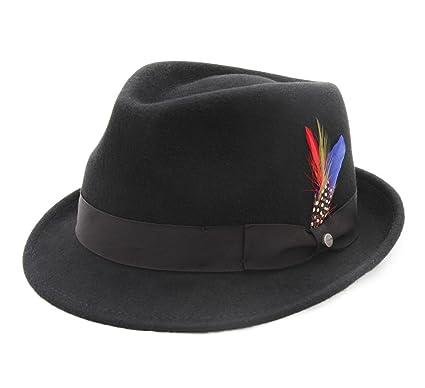 ea3f0b250 Stetson Richmond Wool Felt Trilby Hat Water Repellent
