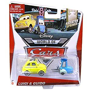 Disney pixar cars diecast luigi and guido - Juguetes disney cars ...