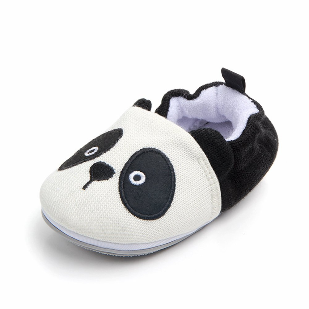 Lidiano Baby Non Slip Rubber Sole Cartoon Walking Slippers Crib Shoes Infant/Toddler (0-6 Months, Bee) 005YB1