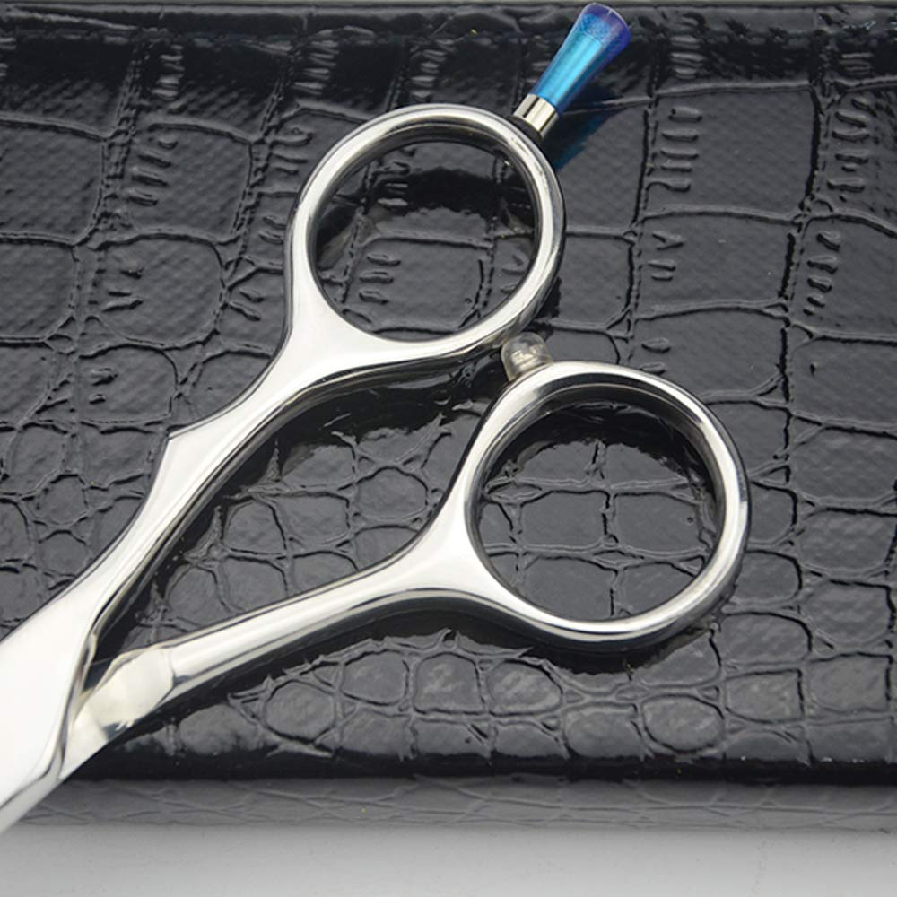 LILYS PET HIGH-END Series 7'' or 8'' or 9'' or 10'' Japanese 440C Stainless Steel Professional Pet Grooming Cutting Scissors with Beautiful Blue Screw (7'')