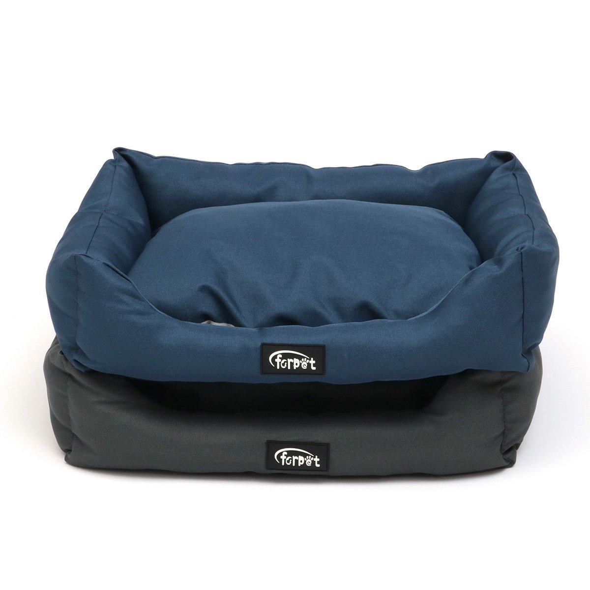 Royal Isali 19'' Dog Bed Waterproof Washable Hardwearing Pet Basket Mat Cushion Pet Bag (color  Royal) Cat Kennels,Beds & Houses