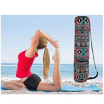 BIEE - Bolsa Porta Ropa de Yoga con Bolsillo multifunción ...