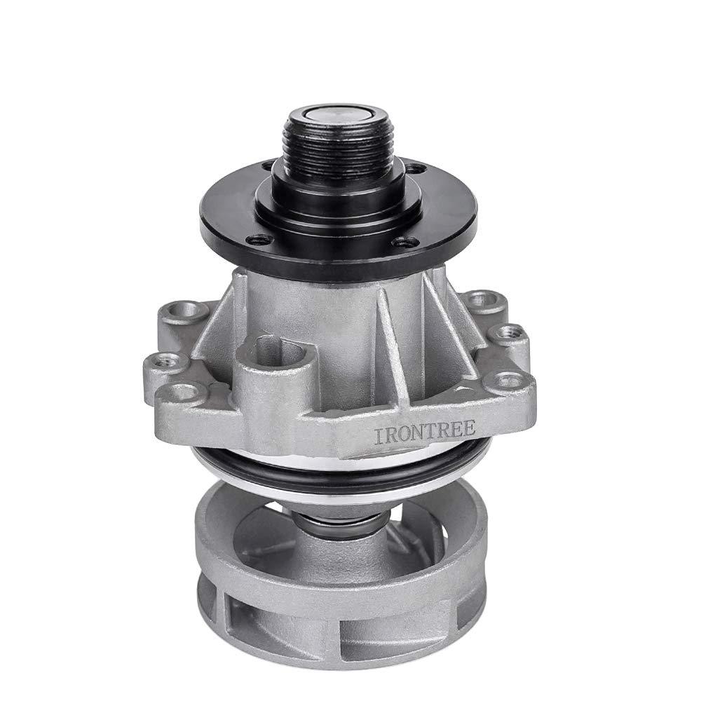 2.0L 2.5L 3.0L L6 Engine OE Replacement IRONTREE 252-284 Professional Water Pump Kit with Gasket for BMW E34 E36 E46 E39 E60 E61 E83 E85