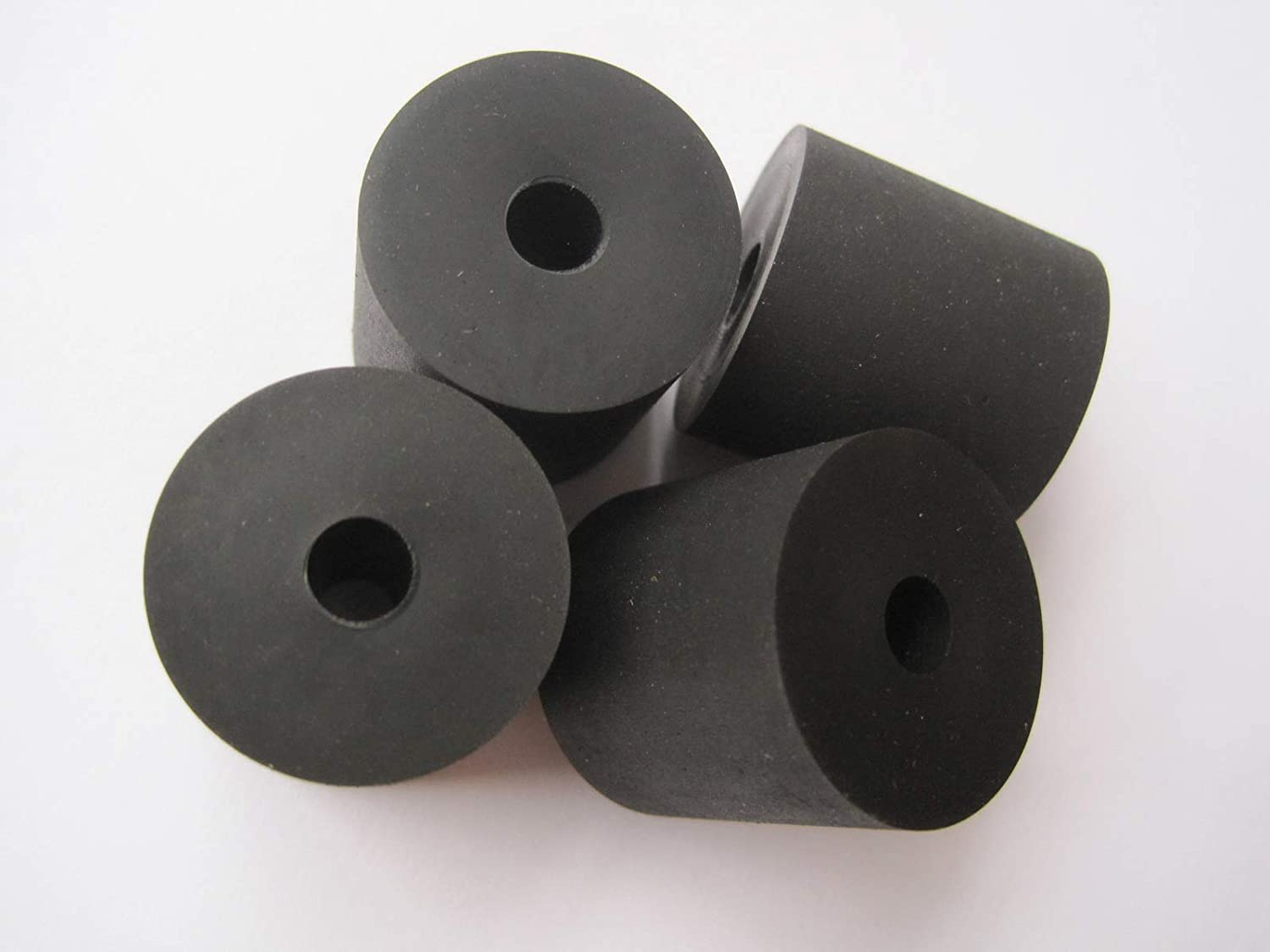Premium Quality Multi-Purpose Rubber Spacer 1 OD x 1//4 ID x 1 Thick AVS-X19-10 4-Pack