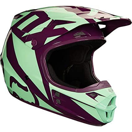 Fox Racing 2018 V1 RACE HELMET GREEN- XL