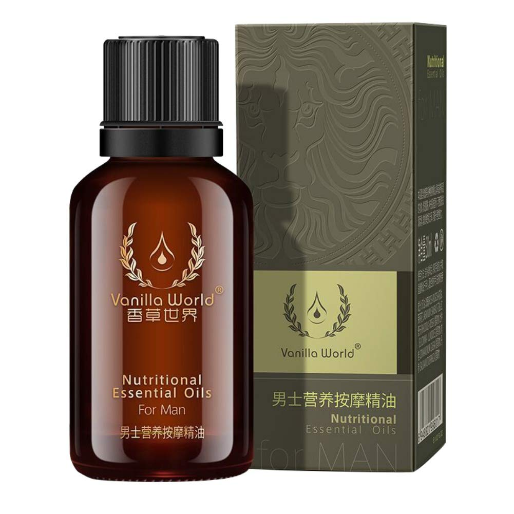 yiitay Men Enlarge Oil Penis Extender Oil Massage Oils Enlargement Growth Thickening Pills Increase Penis Men's Essential Oil, 30ml