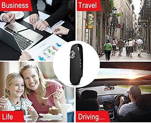 SPYCENT 1080P HD Mini Digital Voice Recorder USB Spy Camera Pen - Portable Wearable Multifunction Security Hidden Cameras Nanny Cam Professional Audio Recording Devices for Lectures Home Interviews