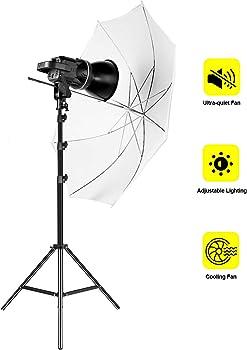 GVM 80W CRI97+ 5600K LED Video Lighting Kit