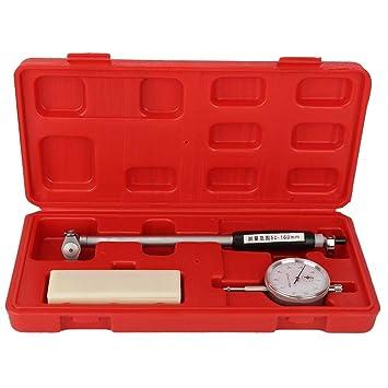 Dial Bore Gauge 50-160MM 0.01MM Bridge Cylinder Internal Bore Measuring Gage Set