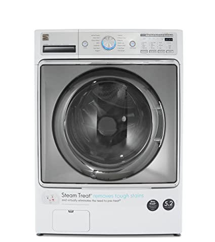 Amazon kenmore elite 41072 52 cu ft front load washer in kenmore elite 41072 52 cu ft front load washer in white includes delivery fandeluxe Choice Image