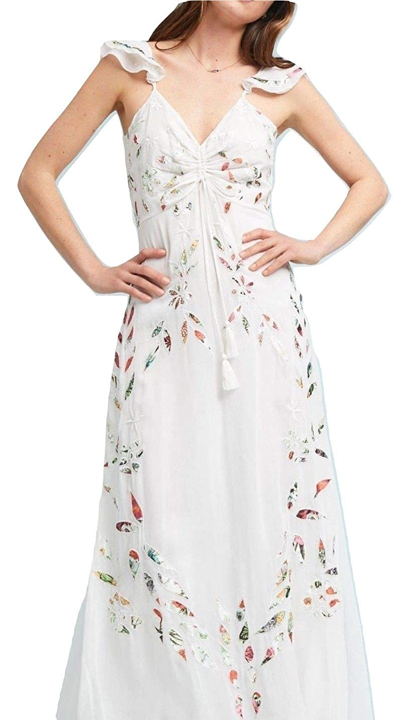 ba3287c9858dc Anthropologie Farm Rio Quintana Maxi Dress - NWT (10) at Amazon Women's  Clothing store: