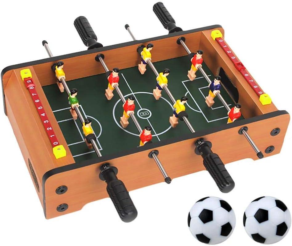 Mesa de fútbol - Mini juego de fútbol deportivo Arcade futbolín ...