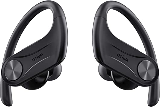 Amazon Com Otium Wireless Earbuds Sport 5 0 Bluetooth Headphones Hi Fi Stereo Bass Sound 130h Playtime Tws Wireless Earphones Ipx8 Waterproof In Ear Buds With Mic Charging Case For Running Workout Gym Home Audio