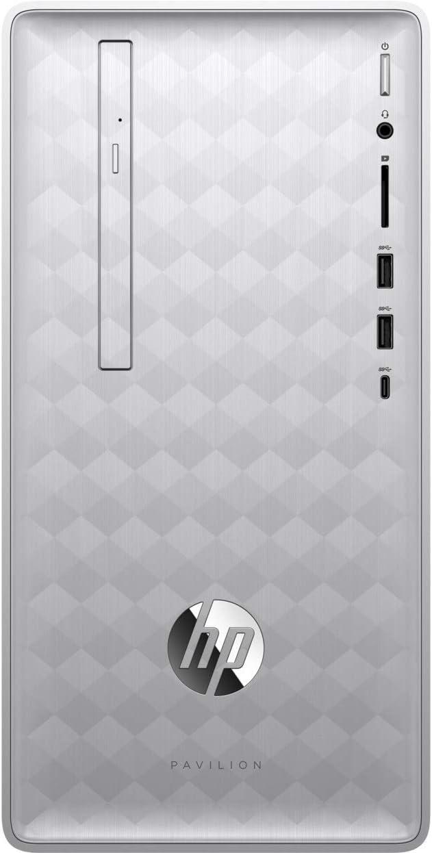 HP Pavilion 590-p0066 3LA87AA#ABA Desktop Computer, Intel i5 (Renewed)