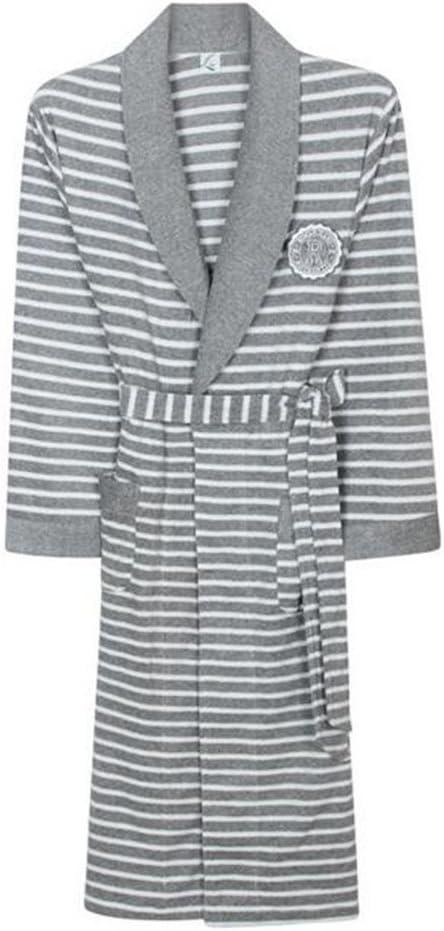 Lou Lou Braguitas Albornoces Unisex Albornoz 100% algodón Puro para Mujer para Mujer con Capucha Albornoz Bata Bata Bata de casa (Color : Mens, Size : M): Amazon.es: Deportes y aire libre