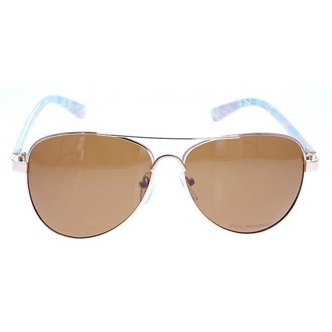 Polarisés Lunettes de soleil aviateur Aztec Navajo de lunettes de mode tribal de Vox Femmes – Cadre Aztec – Ambre lentille TjIN5zrRw