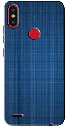best website 0963a f34eb Amazon.com: FCS Printed Soft Silicon Back Cover for Tecno Camon iSky ...