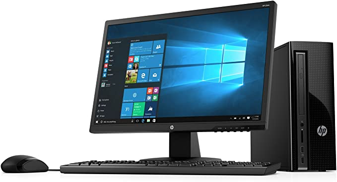 2018 HP 270 21.5-Inch Full HD Display Slim Desktop PC, Intel Pentium G4560T Dual-Core Processor 4GB DDR4 RAM 1TB HDD DVD Writer WiFi HDMI VGA Keyboard ...