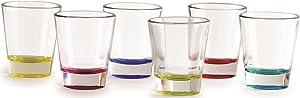 Circleware 42712 Edge Heavy Base Best Selling, 1.5 oz, Multicolor