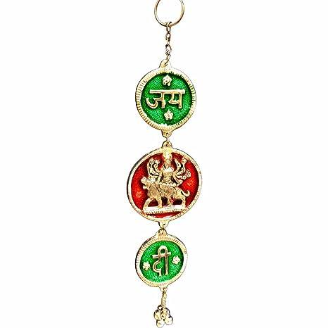 Amazon.com: Padma Craft Hindu Goddess Durga Jay MATA Di ...