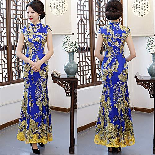 Blue Vestito Donna Dark Fasciante Drasawee 4TqOn