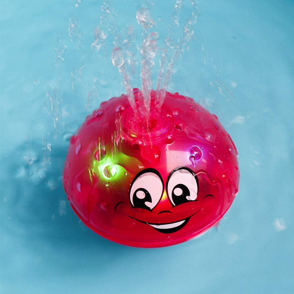 Badewanne Dusche Pool Badezimmer Spielzeug F/üR Babys Kleinkinder Kinder Party Amasawa Water Jet Ball Toy,Sprinkler Ball Toy,Spray Water Baby Bath Toy,Kann Schweben Und Sich Mit Brunnen Drehen