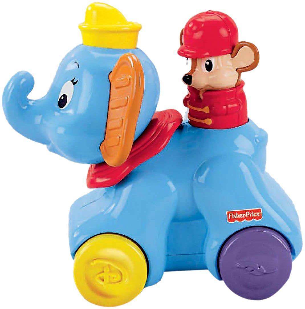 Amazon.com: Fisher-Price Amazing Animals Disney Rollin\' Tunes Dumbo ...