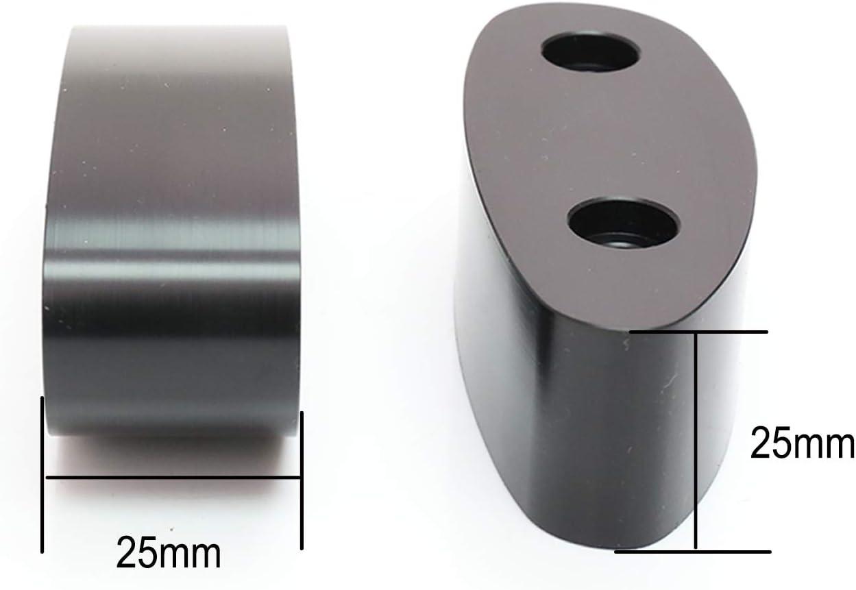 MC MOTOPARTS Delrin Mirror Mount Extender For GSX1300R 99-15 GSX-R 600 750 01-05 GSX-R 1000 2001-2004 02 03