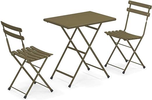 EMU Set ARC en Ciel 2 sillas Plegables Art. 314 + 1 Mesa Plegable ...