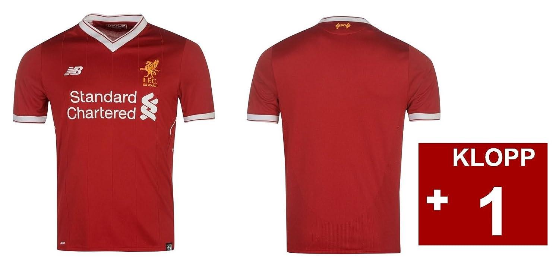 Trikot Kinder FC Liverpool 2017-2018 Home - Klopp 1