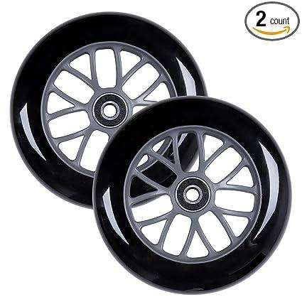 Amazon.com: AOWISH - Lote de 2 ruedas de 4.921 in para ...