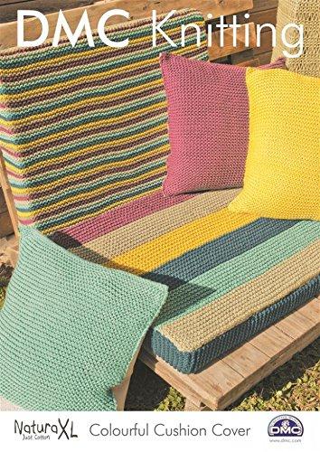 Amazon Dmc Colourful Cushion Cover Natura Knitting Pattern