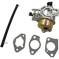 Cancanle carburador con Junta Manguera de Combustible para Honda GX390 Bomba de Agua cortacésped Motor reemplaza 16100-ZF6-W31