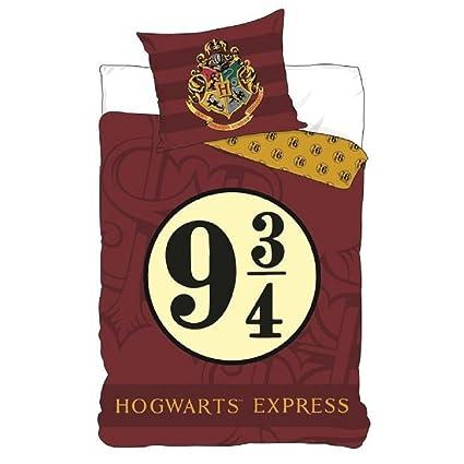 Parure De Lit Harry Potter Housse De Couette 140 X 200 Cm Taie 63