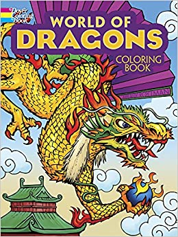 World of Dragons Coloring Book (Dover Coloring Books): Arkady ...