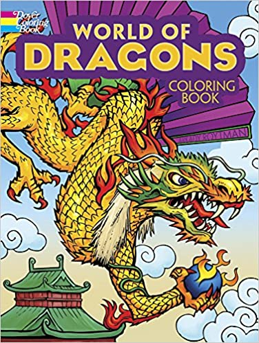 World Of Dragons Coloring Book Dover Books Arkady Roytman 9780486494456 Amazon