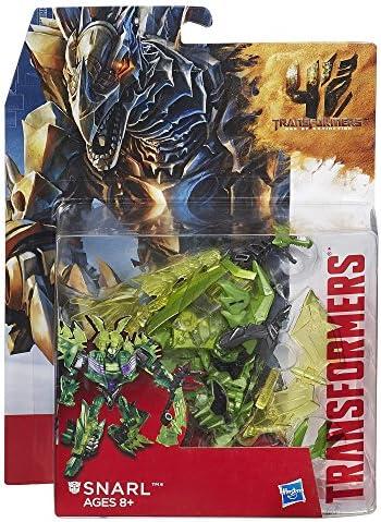 descontinuado por Fabricante Transformers Edad de extinci/ón Generaciones Deluxe Clase Snarl Figura