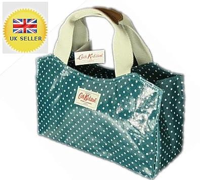 cath kidston spot oilcloth book bag