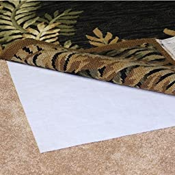 Magic Stop Non-Slip Indoor Rug Pad, Size: 8\' x 10\' Rug Pad for Area Rugs Over Carpet
