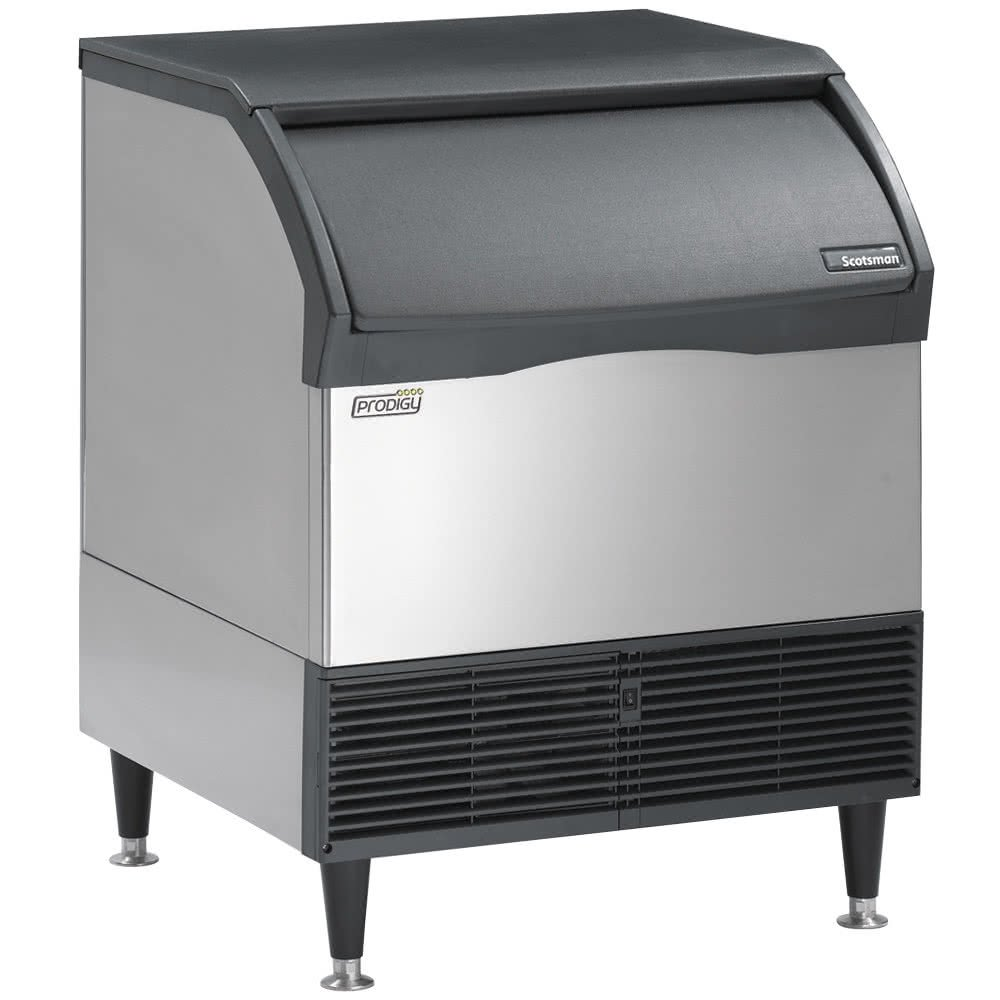 Scotsman CU3030SA Prodigy Self-Contained Undercounter Ice Machine, Air Condenser 250 lb. Production 110 lb. Storage by Scotsman
