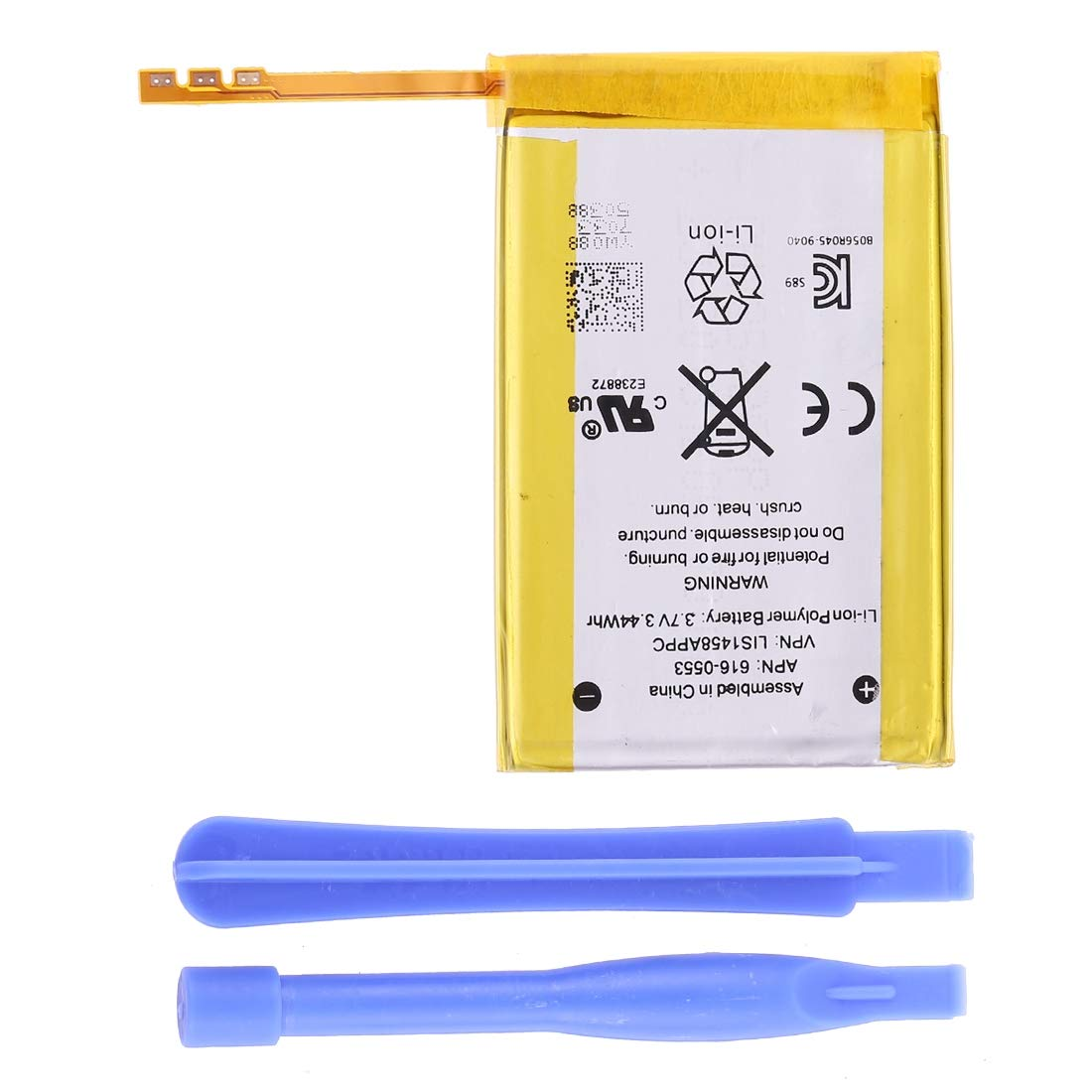 HONGYU Smartphone Spare Parts 3.7V 3.44Whr Rechargeable Replacement Li-ion Battery for iPod Touch 4 Repair Parts