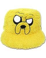 Adventure Time Fur Jake Fuzzy Yellow Baseball Hat