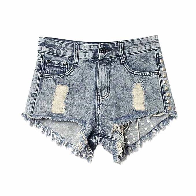 Pantaloncini Stretto Kiwitwo Super Fashion Look Donna Shorts Boyfriend Used 4young Bermuda Di Jeans Capri vFavqOS