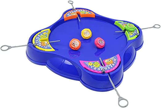 D DOLITY Juguetes luchando Spinning Tops Game Launcher Board ...