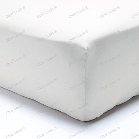 Egyptian Cotton 40CM Deep Fitted Sheets Single Double King Super King!