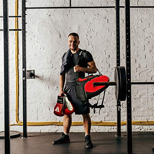 a65126e6770d RDX Gym Holdall Gear Bag Backpack Duffle Kit Sports Gymsacks ...
