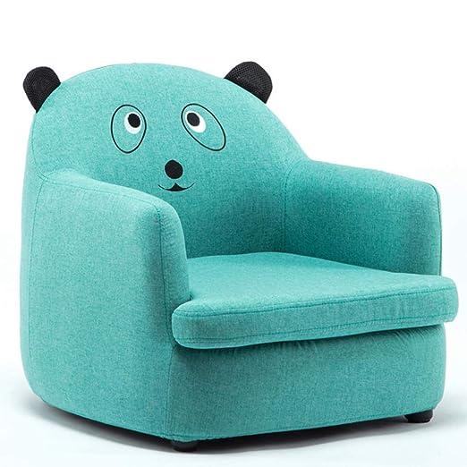 WANG LIQING Sofá for niños, Forma de Dibujos Animados fácil ...