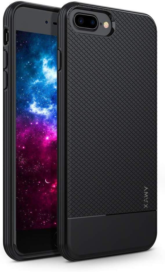 iPhone 7 Plus H/ülle Aclouddate iPhone 8 Plus H/ülle Soft Flex TPU Case Ultrad/ünn Handyh/ülle Silikon Bumper Cover Tasche Schale Schutzh/ülle f/ür iPhone 7//8 Plus 5,5 Zoll